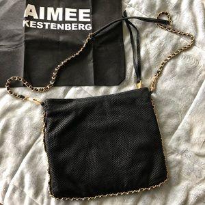 Aimee Kestenberg / Cyrus Shoulder Black Bag